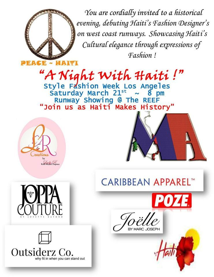 Night with Haiti - Designers and Vendors