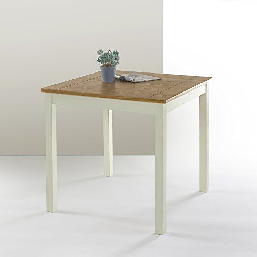 Zinus Farmhouse Square Wood Dining Table Https Www