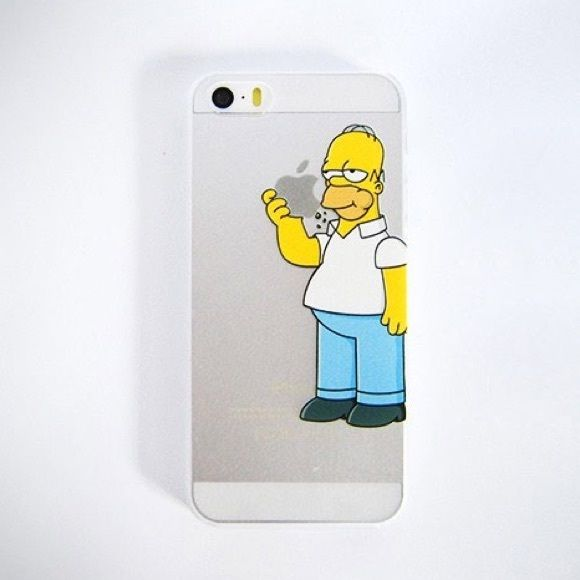 Homer Simpson iPhone 6plus Case A super cute transparent