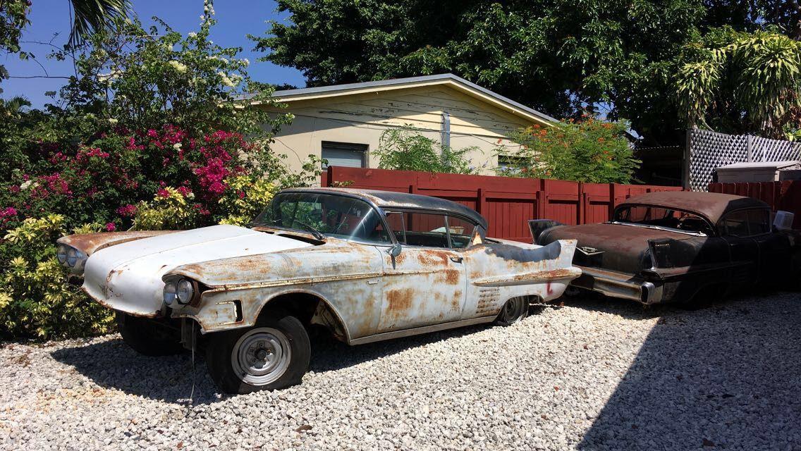 Rusting 1958 Cadillacs Car projects, Car find, Rat rod