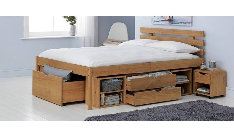 Buy Argos Home Ultimate Storage Ii Double Bed Frame Bed