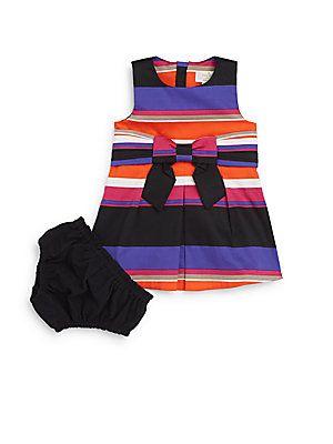 kate spade new york Baby's Two-Piece Jillian Dress & Bloomers Set