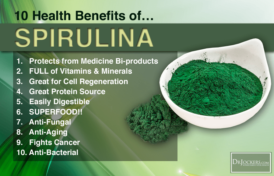 An Anatomy of Spirulina: Nature's Perfect Food (With images ...