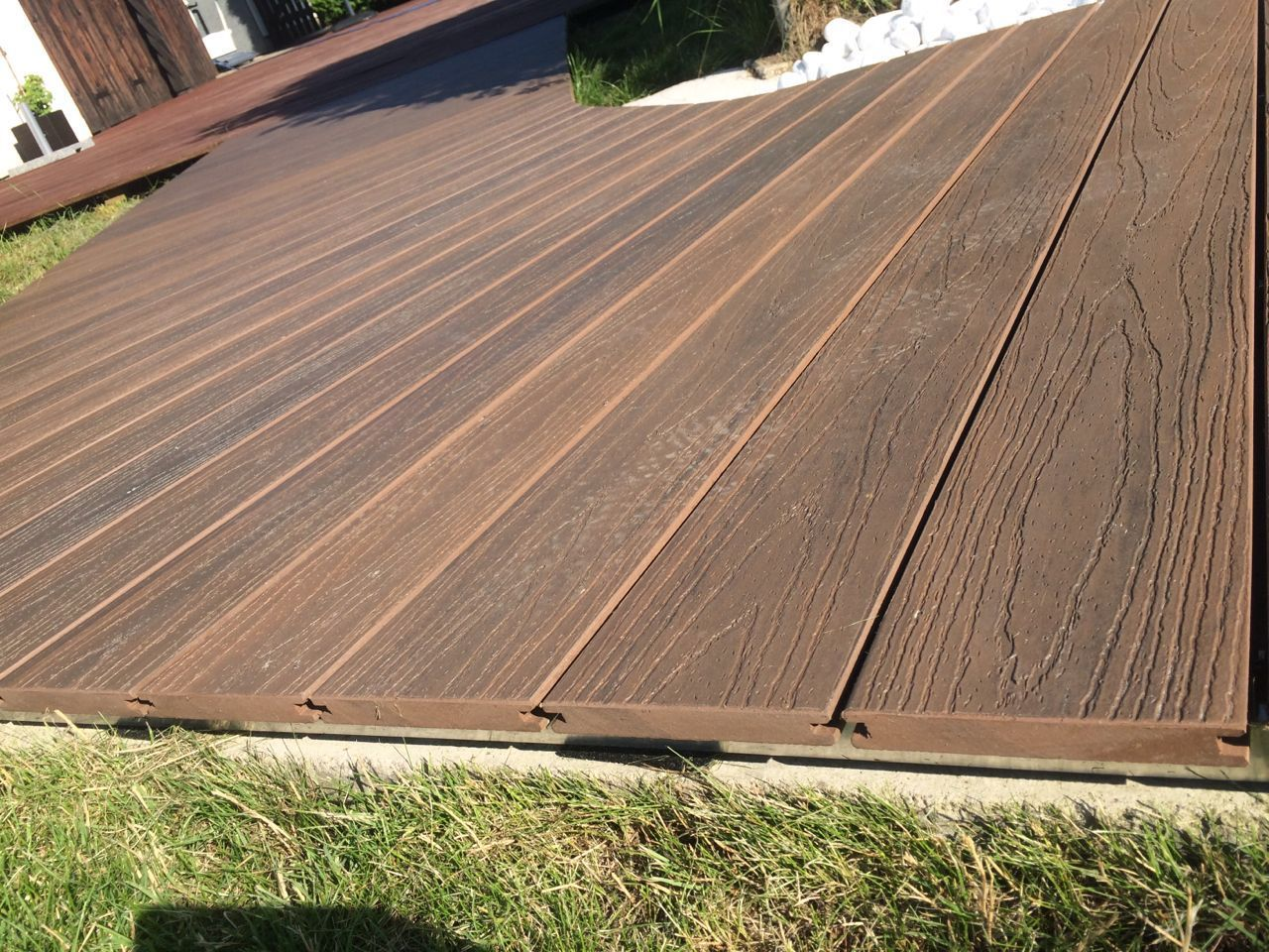Wpc Envision Composite Decking Reviews Decking Suppliers Wpc Decking Deck