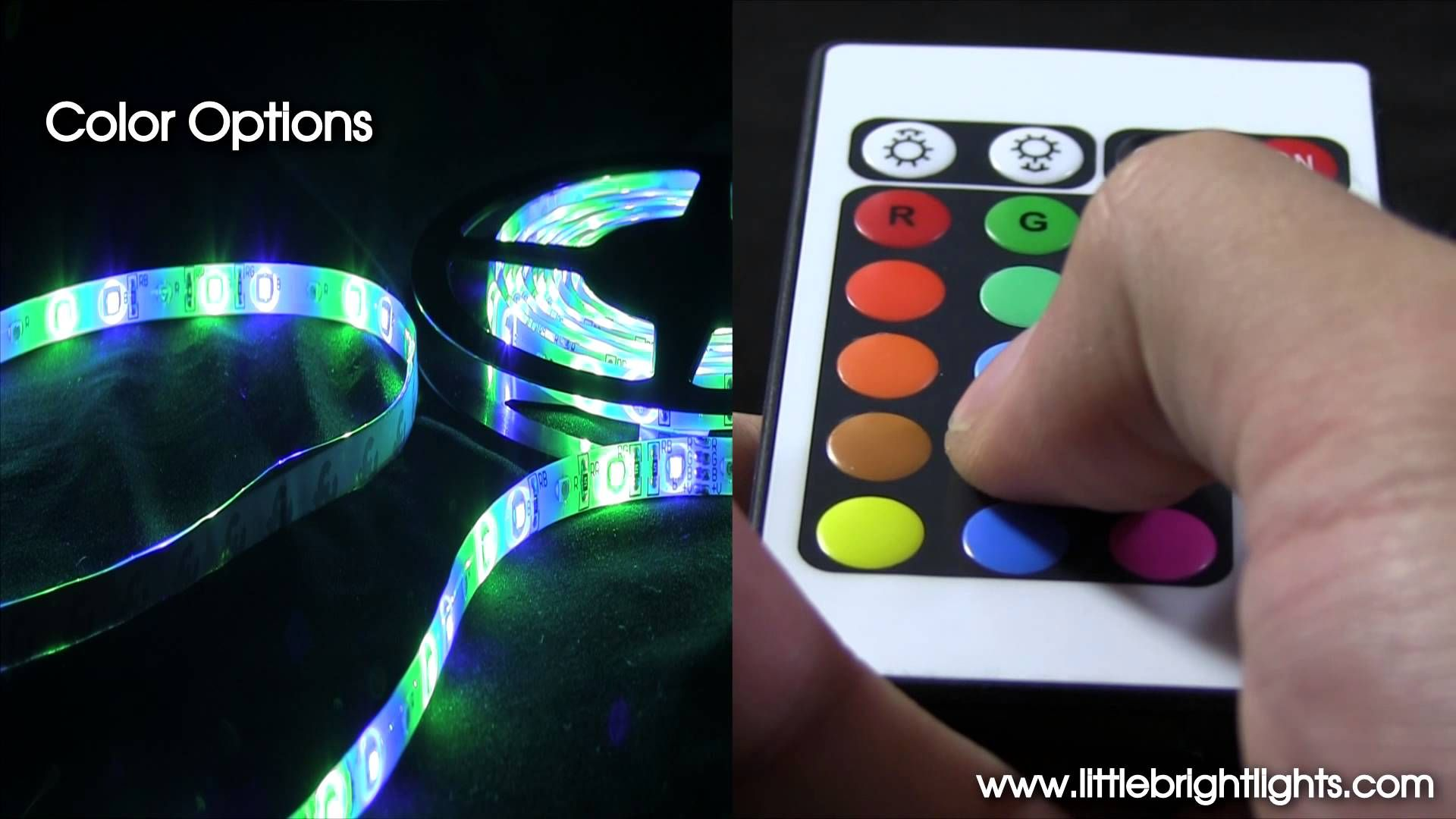 Led Flexible Light Strip 16 Ft 300 Leds Multi Function Color