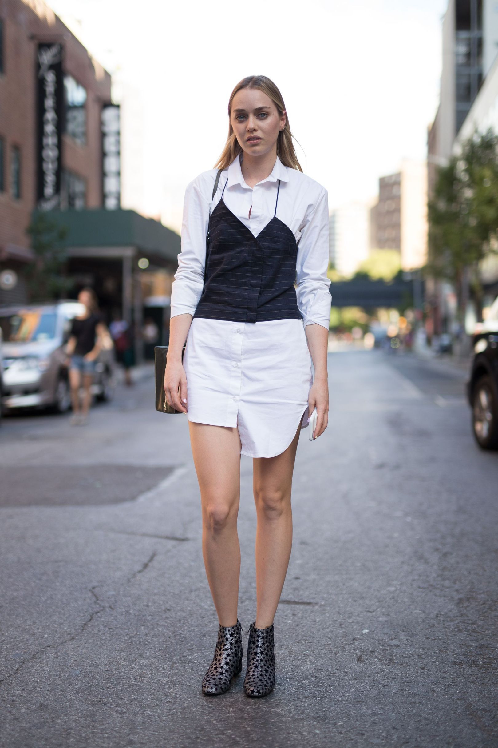 Our street style photographer captures the most stylish attendees at New York…