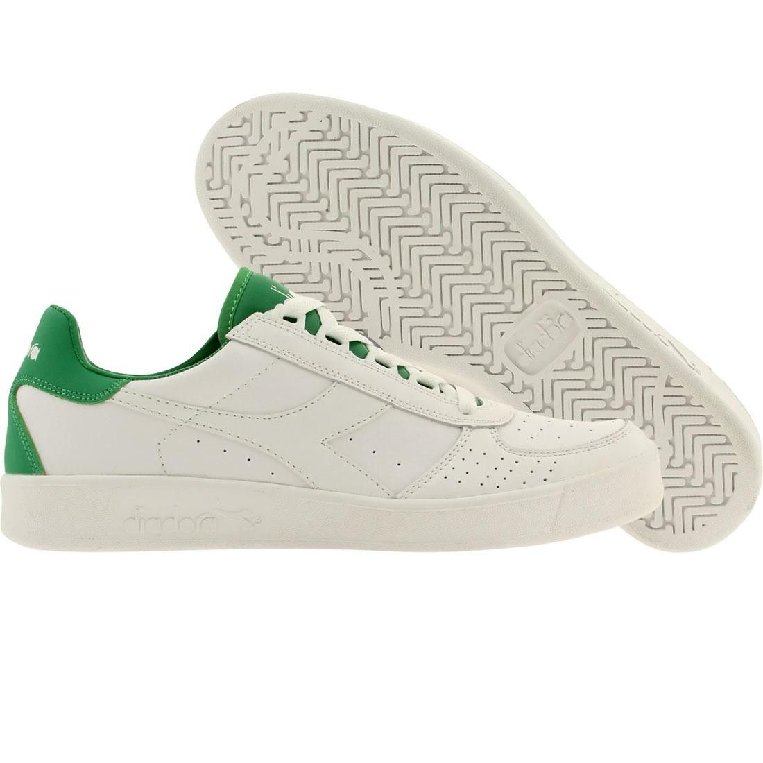 Diadora B Elite Men White/Peas Cream Shoes