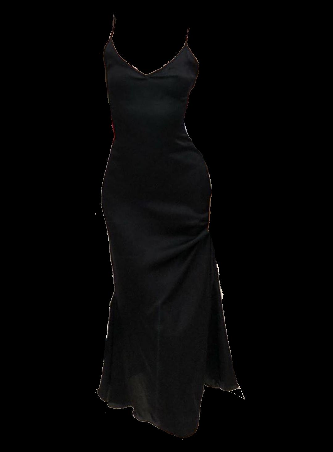 Black Dress Png Moodboard Filler Polyvore Black Dress Dress Png Dresses