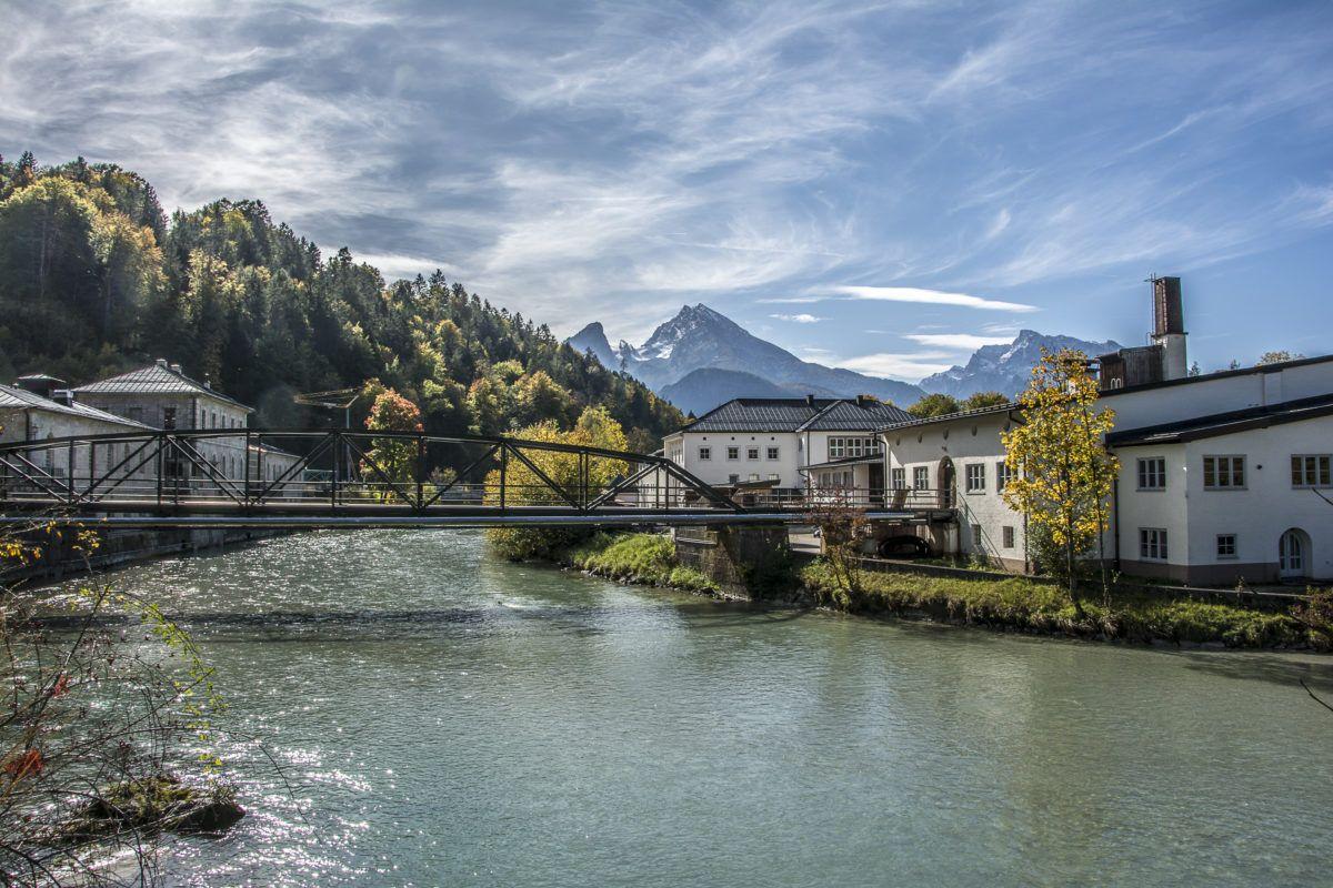 Herbstliche Radl Tour Von Berchtesgaden Nach Ettenberg Radeln Radtour Almbachklamm
