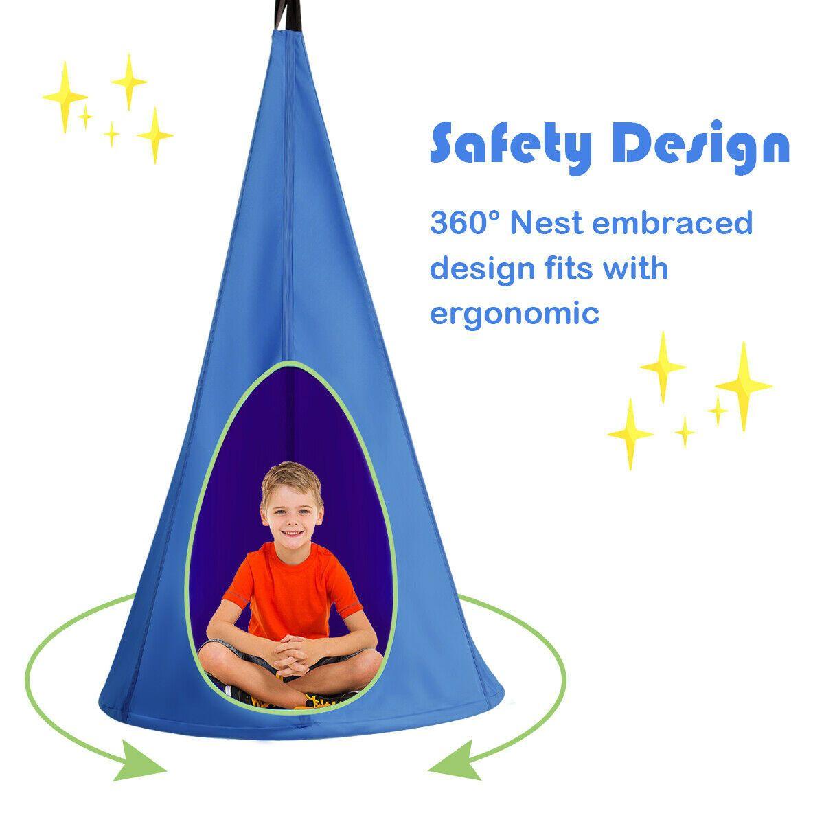 "32"" Kids Nest Swing Hanging Seat Hammock in 2020 Hanging"