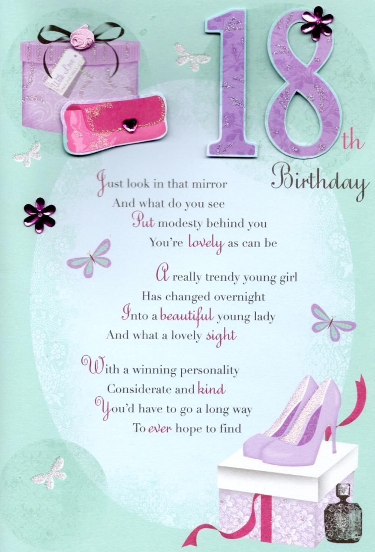 18th birthday message with regard to trending  birthday