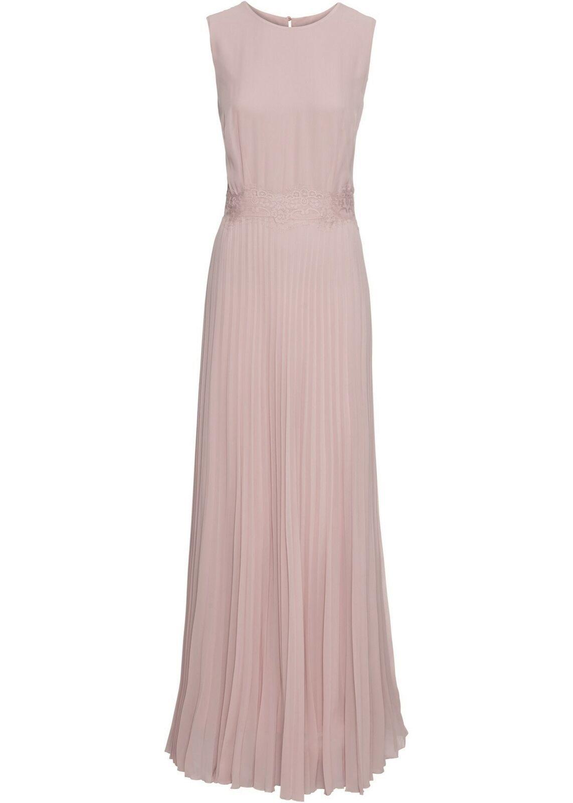 Kleid Gr. 13 Flieder Damen-Maxi-Abend-Ballkleid-Partykleid