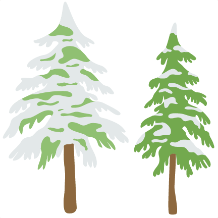 Picture Freeuse Stock Snowy Trees Clipart - Snowy Christmas Tree Clipart -  Png Download (#607293) - PikPng