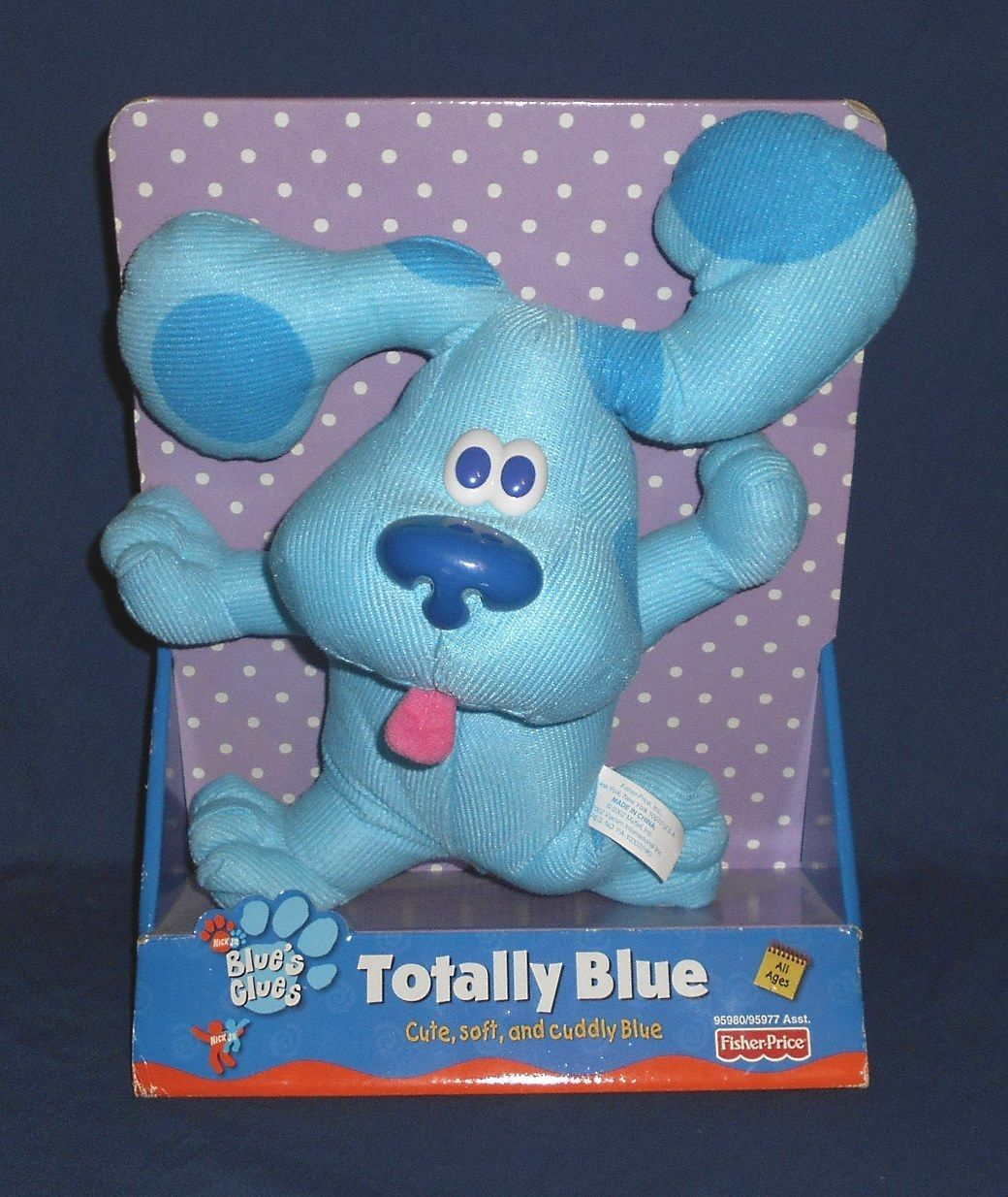 blues clues 2626 new 2002 fisher price blue s clues plush doll