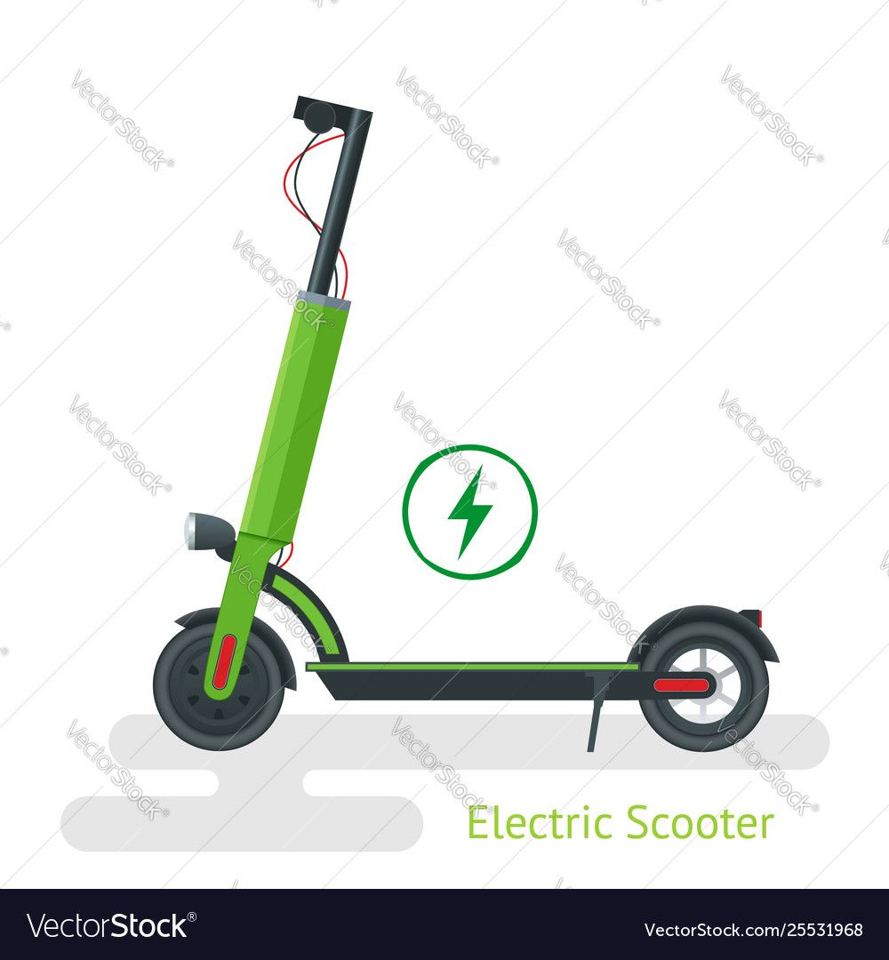electric scooter on road electric scooter vector image sponsored road scooter electric im business card templates download vector images vector free road electric scooter vector image