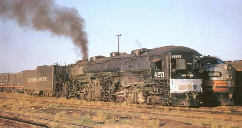 A 4882 Southern Pacific AC 11 Cab Forward