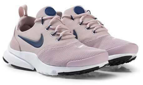 8ee865a03b5ec NIKE Pale Pink and Navy White Nike Presto Fly Shoes