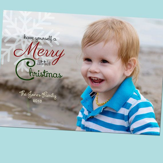 Have Yourself a Merry Little Christmas - Christmas Card ...