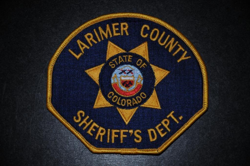 Larimer County Sheriff Patch, Colorado (Vintage) | Law