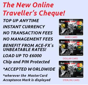 Bureau De Change London | ACE-FX | Currency Online