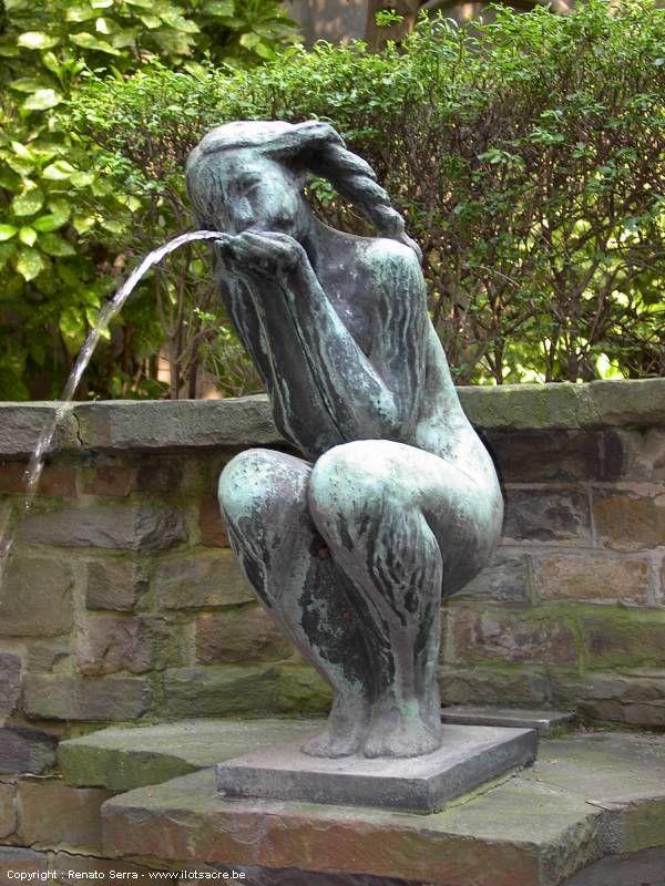 idel ianchelevici - fontaine, rue des bouchers à bruxelles