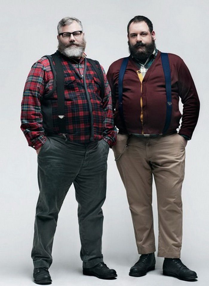 484e471ce310d Fashion for Big Belly Men. These guys are great. | [fashion] in 2019 ...