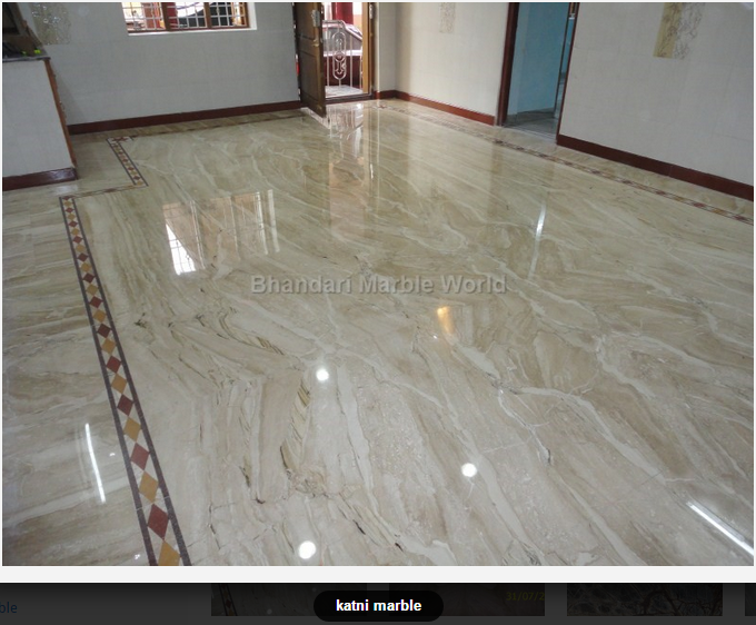 Katni Marble is produced in Katni village, Madhya Pradesh