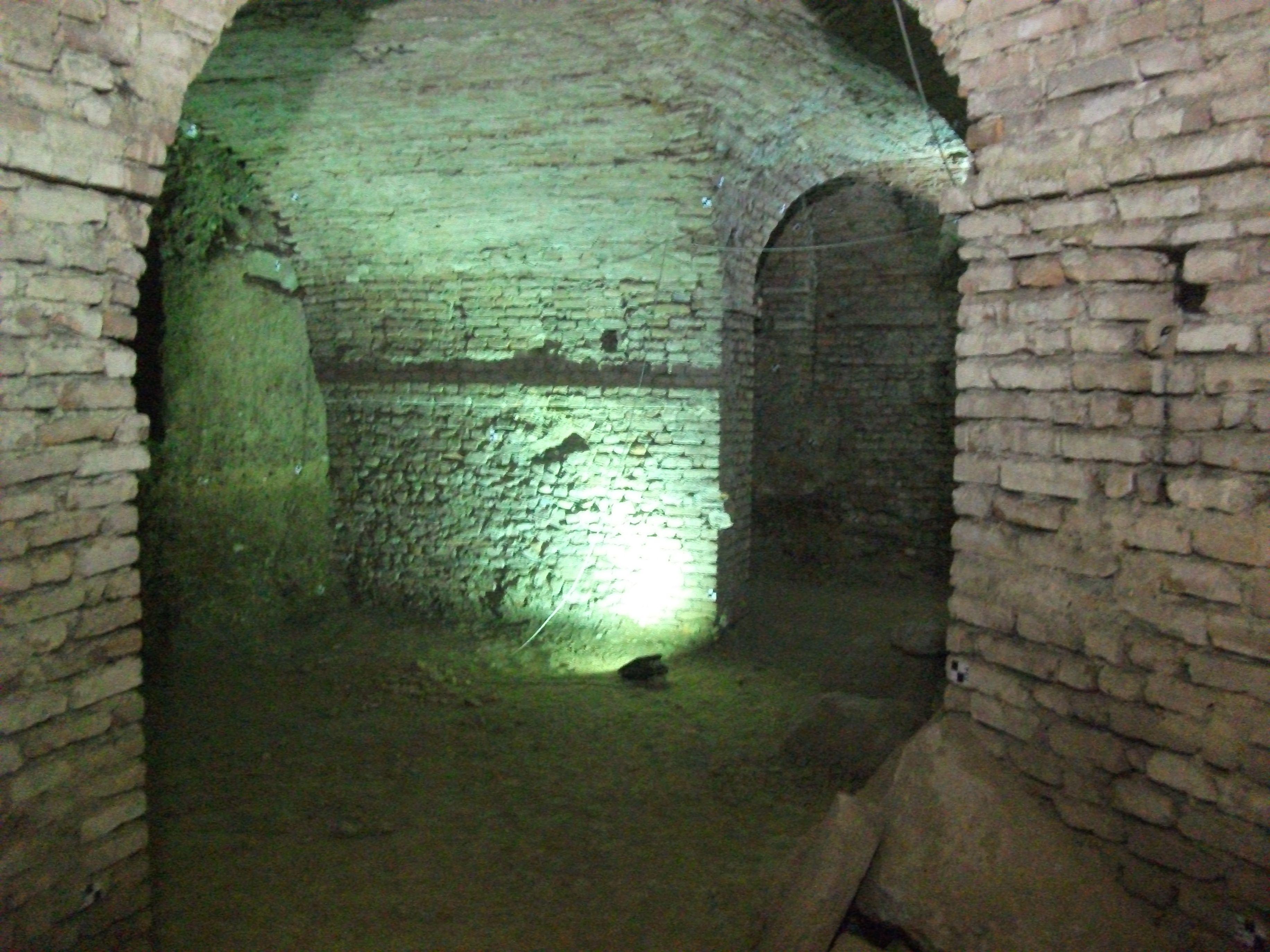 Sotterranei della Chiesa della Consolata #TurinExperience #UndergroundTurin #TorinoSotterranea #Torino