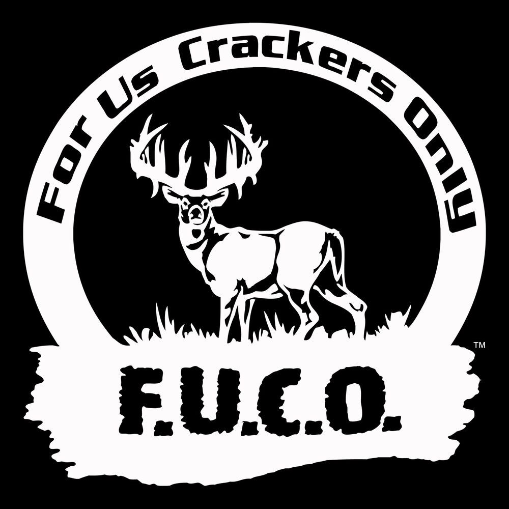 Cracker decalf u c o for us crackers only stickerredneck decal