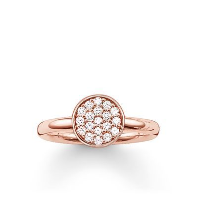 Thomas Sabo Glam Soul Sterling Silver Ring Thomas Sabo Ring Thomas Sabo Circle Ring