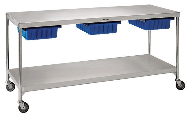 Work Table / Rectangular / On Casters / Stainless Steel   CDS ... | Art  Room Furniture | Pinterest | Prodotti Di Bellezza, Acciaio E Acciaio  Inossidabile
