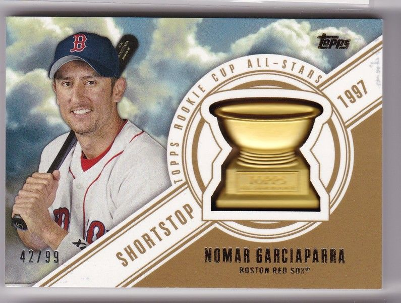 2014 topps nomar garciaparra rookie cup all stars 4299