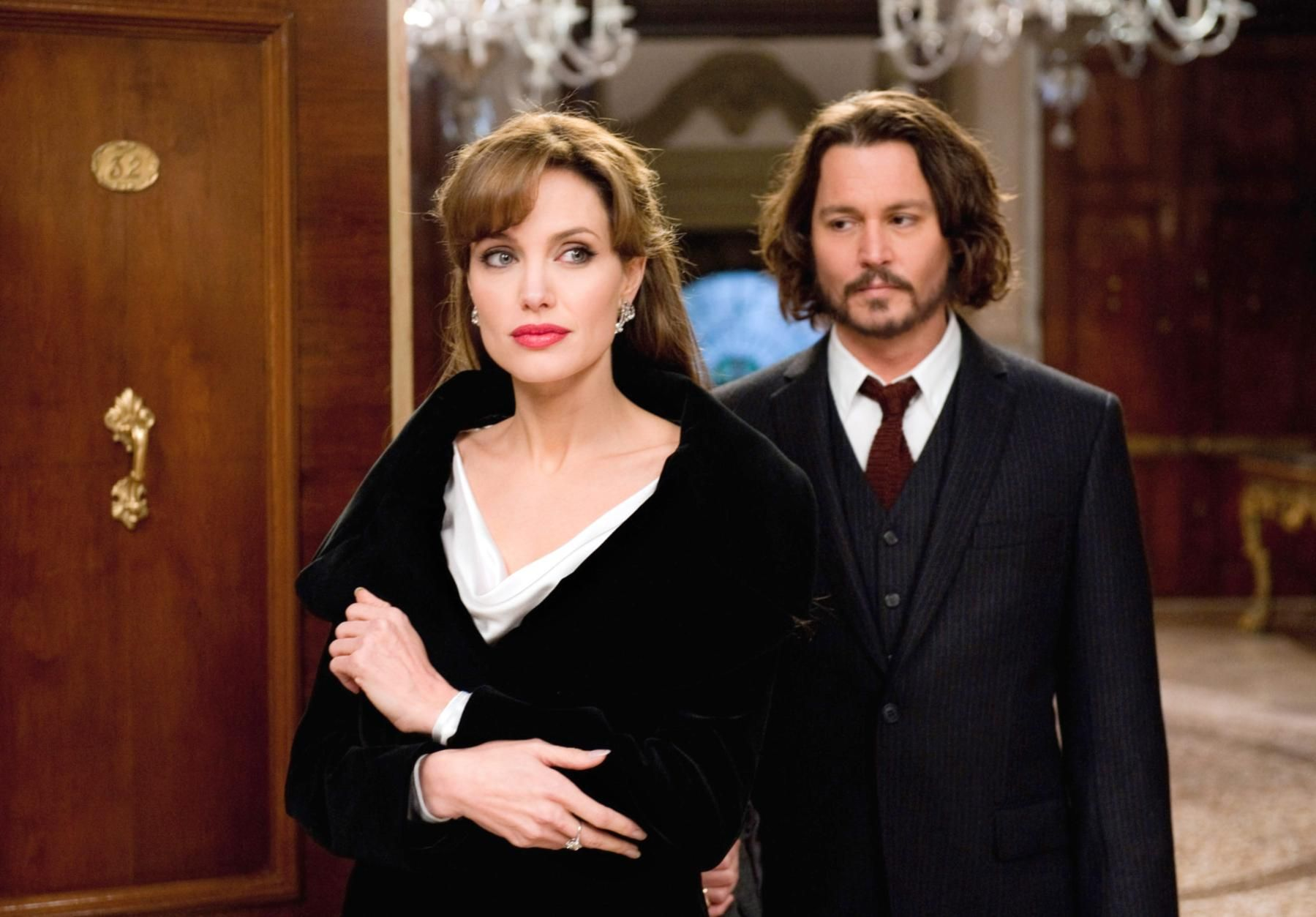 The Angelina Jolie Look Book Johnny Depp Angelina Jolie The