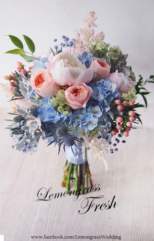 Flower Bouquet Ideas Wedding Bouquets Pink Spring Wedding Flowers Blue Wedding Bouquet