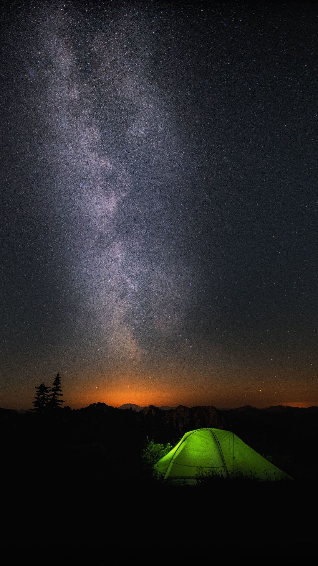 Original Microsoft Wallpaper In 2020 Camping Wallpaper Night Sky Wallpaper Windows 10