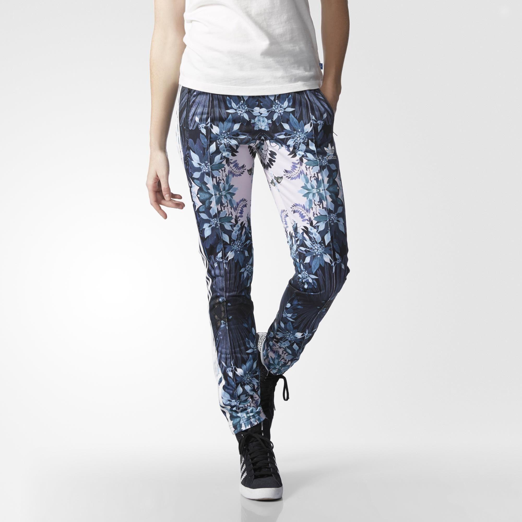 Adidas Originals romantico bosque Supergirl track pants Hipster