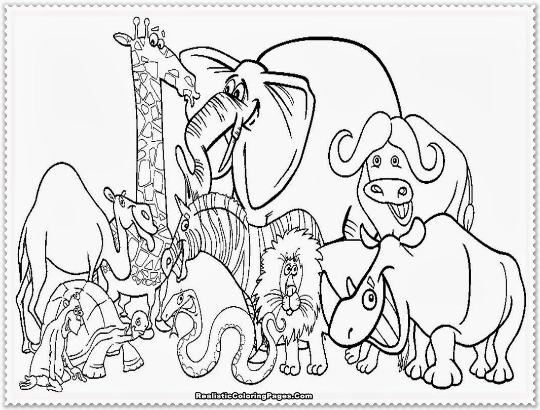 Zoo Animal Coloring Pages Zoo Coloring Pages Zoo Animal Coloring Pages Animal Coloring Books