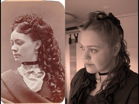 Pretty Victorian Hairstyle Tutorial Video I Love The