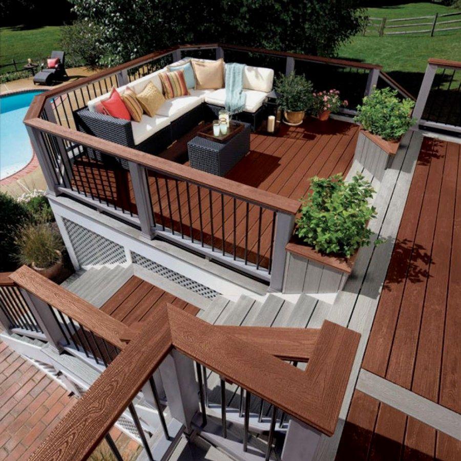Easy diy redwood deck projects you can do yourself for your home easy diy redwood deck projects you can do yourself for your home deck design ideas designs no 1356 decideas deckdesigns patiodecks wooddecks solutioingenieria Images