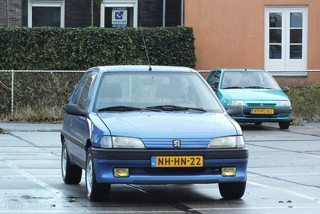 1996 Peugeot 106 XSi | by peterolthof