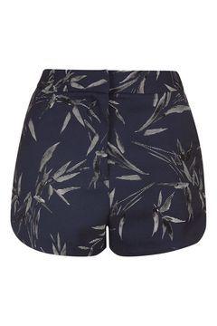 62b9e73b5759 Bamboo Print Runner Shorts Double Breasted Blazer