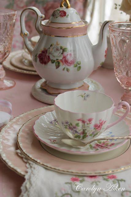 beautiful setting for tea from aiken house gardens lady rosalee loves her rose garden. Black Bedroom Furniture Sets. Home Design Ideas