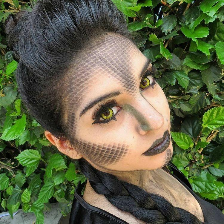 Dinosaur Makeup Halloween