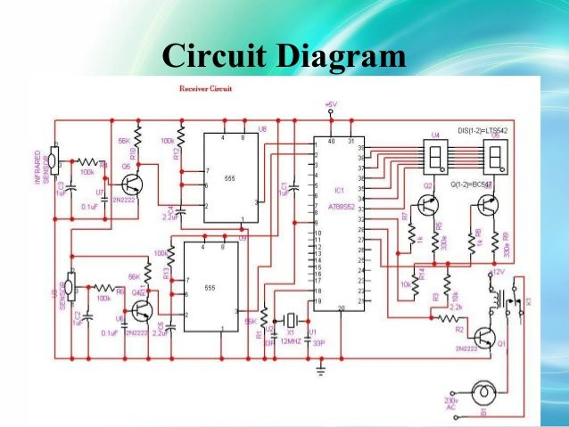 Automatic Room Light Control Circuit Diagram  Ece  Eee