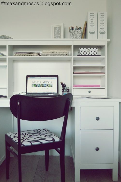 Max Moses The Blog Office Home Ikea Hemnes Desk Home Home Office