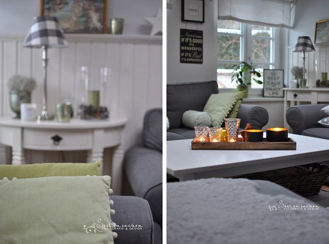 Farbkonzept grau, weiß, grün home Pinterest Farbkonzept - wohnzimmer weis grun