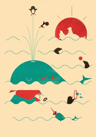 Arctic Playground Art Print by Jay Fleck   Society6