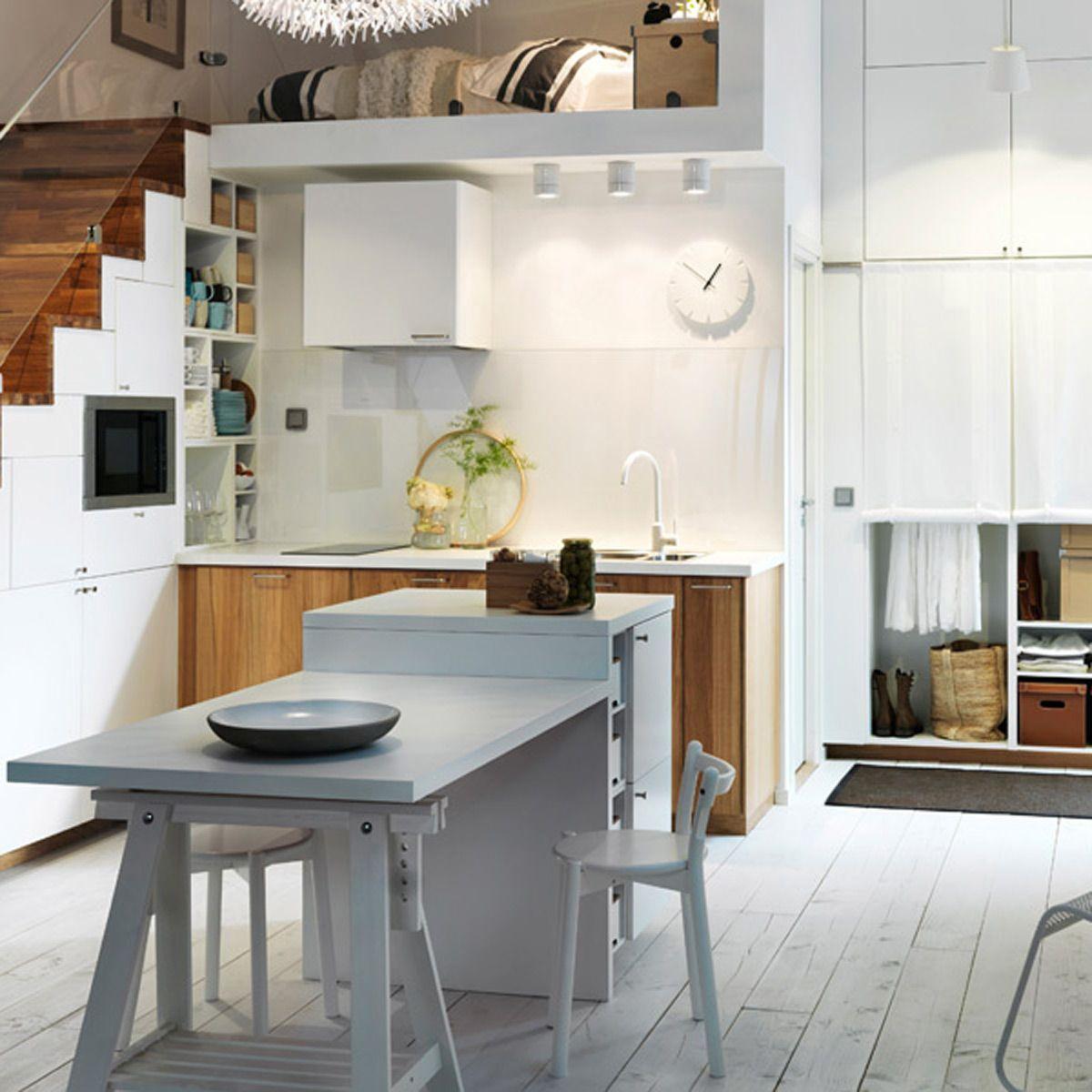 Modern Storage Ideas For Small Spaces Staircase Design: 5 Original Space-saving Kitchen Storage Ideas