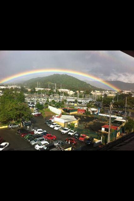 Rainbow over Caguas