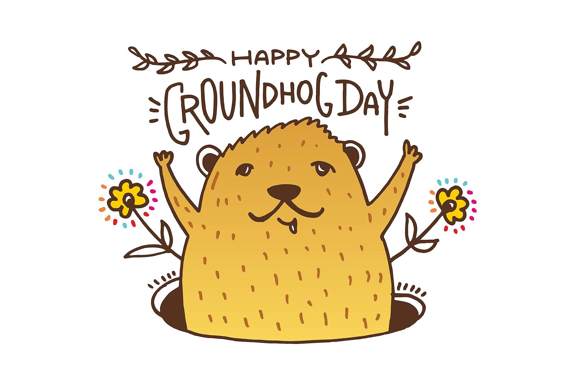 Groundhog Emoji